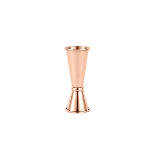 Jigger Japanese style 25/50ml copper