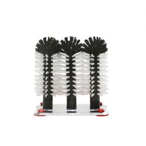 Brush head Set Aluminium Base 3 18cm