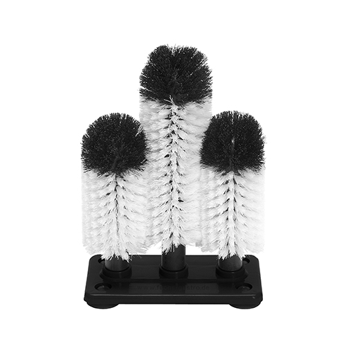Brush Head set 3 plastic base 18 / 25 cm