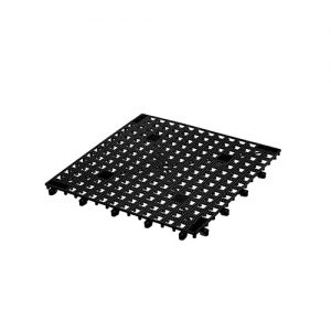 Glass Mat Interlocking Black