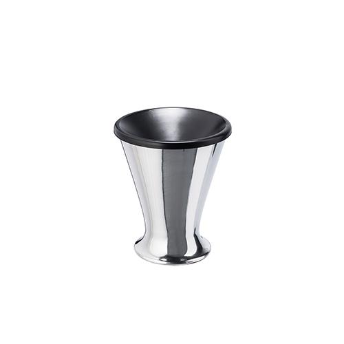 Spittoon aluminium 14 cm height 18 cm